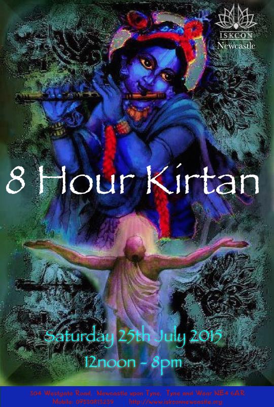 8 Hour Kirtan July 2015