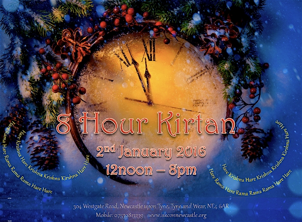 8 Hour Kirtan January 2016