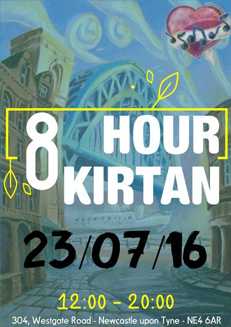 8 Hour Kirtan July 2016